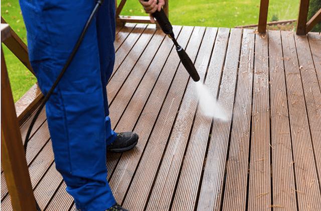 deck cleaning aurora